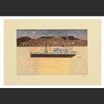 Midnight Sun - print by Kananginak Pootoogook